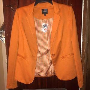 The Limited Burnt Orange Blazer